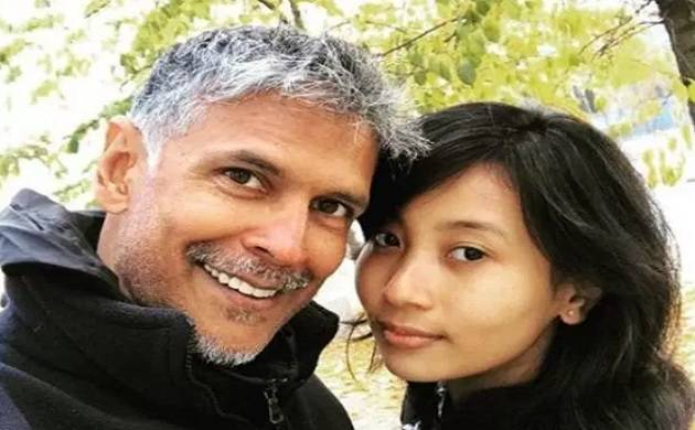 Unfazed by trolls, Milind Soman shares selfie with his young girlfriend Ankita Konwar