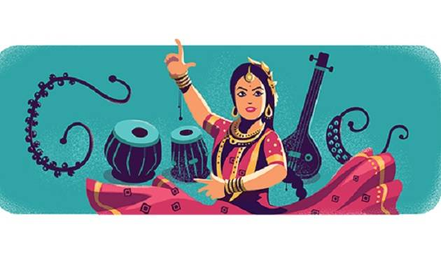 Google Doodle celebrates 97th birthday of Kathak queen Sitara Devi
