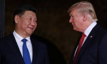US President Donald Trump meets his Chinese counterpart Xi Jinping; set to discuss trade, North Korea and Pakistan