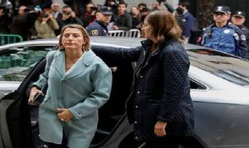 Catalonia crisis: Speaker of sacked Catalan Parliament Carme Forcadell detained over independence bid