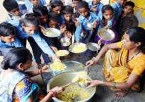 MP govt primary school children asked to clean toilet with mid-day meal plates