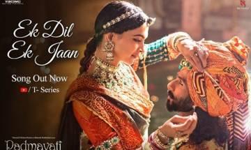 'Padmavati' second song 'Ek Dil Ek Jaan': Love ballad showcases eternal bond between Rani Padmini, Maharawal Ratan Singh