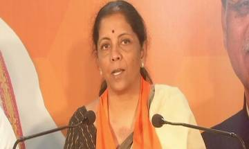 Defence Minister Nirmala Sitharaman hits out at Congress for neglecting Narmada River
