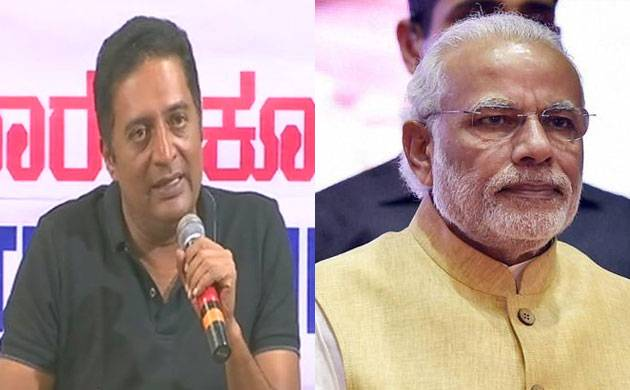 Prakash Raj takes a jibe at Modi, says 'if given chance people want to correct their 2014 mistake'