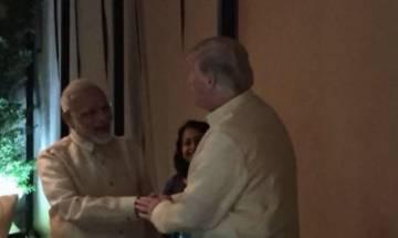ASEAN Summit: PM Modi meets US President Trump in Manila