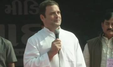 Gujarat Elections 2017: In Gujarat 'vikas has gone crazy,' says Rahul Gandhi