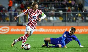 Croatia qualify for 2018 FIFA World Cup after clinching play-offs against Greece