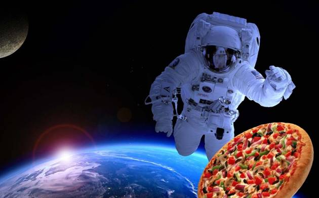 ISS Astronauts crave pizza and ice-cream in orbit