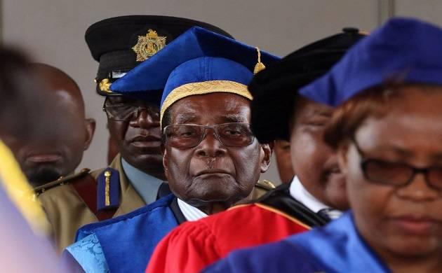 Demoted President of Zimbabwe Robert Mugabe (Twitter)