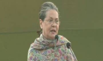 Congress prez Sonia Gandhi says Indira fought against people who wanted to divide society on religion, caste