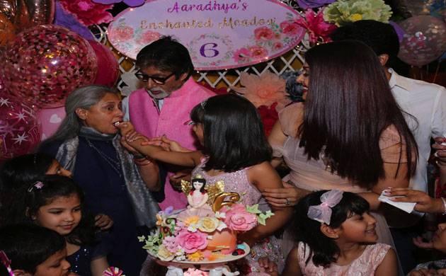 Amitabh Bachchan shares from Aaradhya's sixth birthday party (credits- Facebook)
