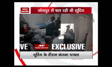 Kangna Ranaut sustains leg injury on sets of 'Manikarnika: The Queen of Jhansi'