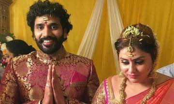 Bigg Boss Tamil contestant Namitha ties knot with beau Veerandra (see pics)