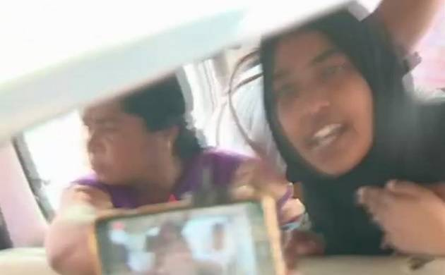 No body forced me to convert, want to live with husband, says Hadiya (Poor Image quality regretted, Source: ANI)
