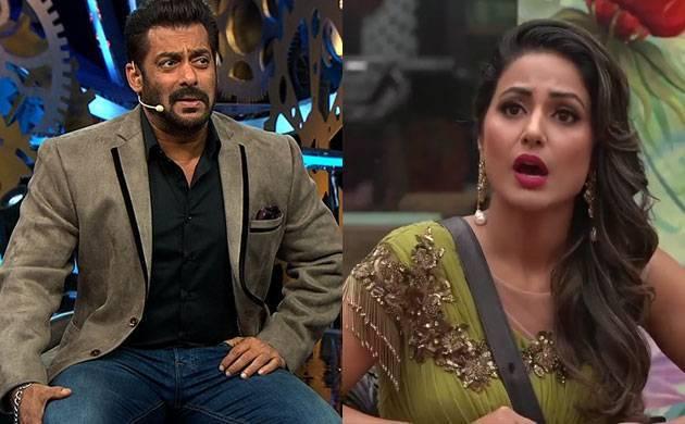 Bigg Boss 11: Hina Khan makes serious allegations against Salman Khan