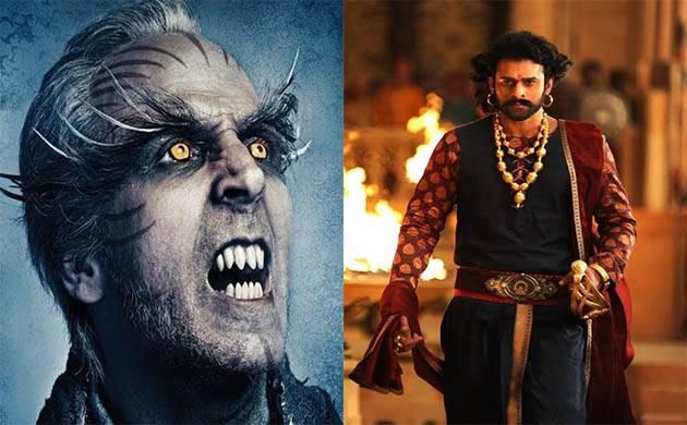 Rajinikanth-Akshay Kumar starrer '2.0' walks the path of Prabhas's 'Baahubali 2'