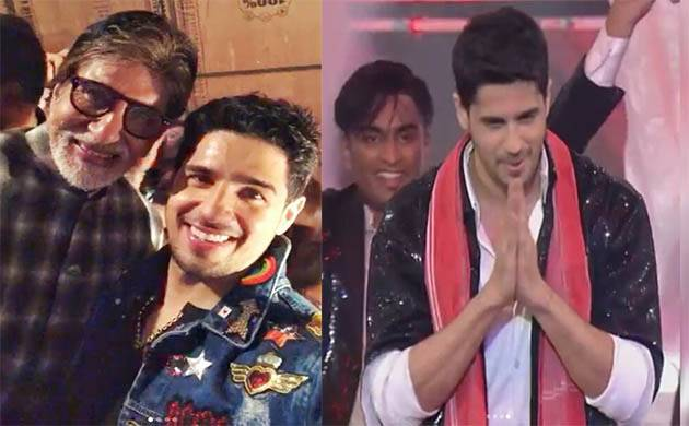 In Pics: Sidharth Malhotra pays tribute to Amitabh Bachchan at IFFI 2017
