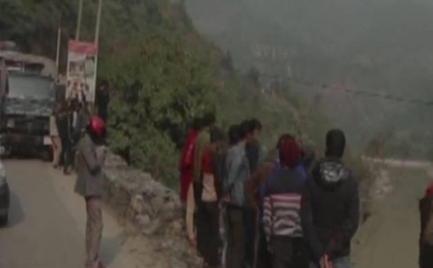 Eight killed as bus falls into Trishuli river in Nepal (Photo-ANI)
