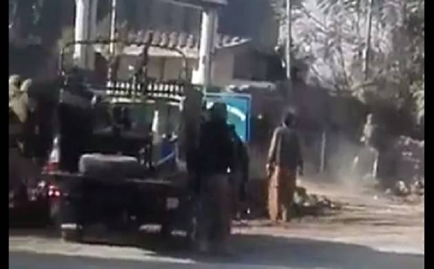 Four terrorists killed, 16 injured in Peshawar Agricultural University attack (Image quality regretted)