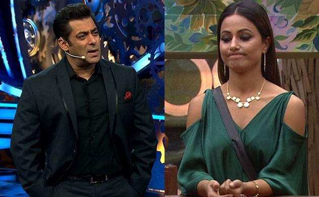 Bigg Boss 11: Salman Khan LASHES OUT at Hina Khan