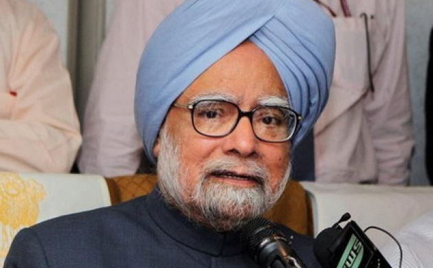 Former Prime Minister Manmohan Singh today welcomed the uptick in the Q2 GDP growth at 6.3 per cent (File photo PTI)