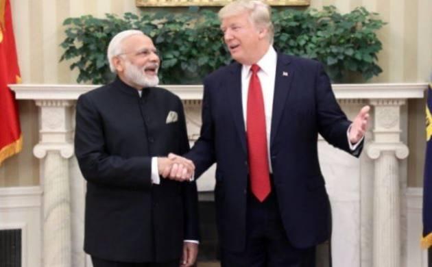 President Trump-Modi speak over phone, express satisfaction over Hyderabad Summit 2017 (File Photo)