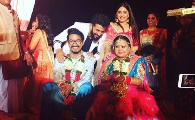 Bharti Singh- Haarsh Limbachiyaa tie the knot in Goa