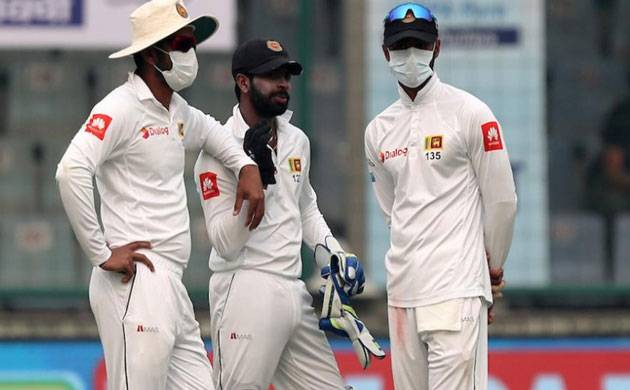 Ind Vs SL, 3rd Test: Sri Lanka 131 for 3 at stumps after host declare at 536/7 (Picture credits- BCCI)