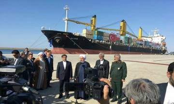 China evades comment on Chabahar port launch