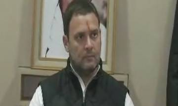 Rahul files nomination for Cong president's post, Manmohan Singh calls him party's darling