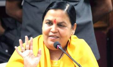 'I will fast unto death if Ganga cleaning plans don't start by October 2018', says Uma Bharti