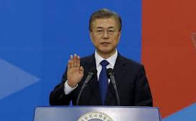 South Korean President Moon Jae-In to visit China next week (File Photo)