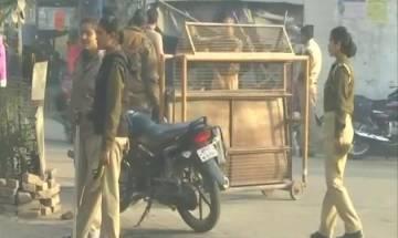 Heavy security deployment in Ayodhya-Faizabad