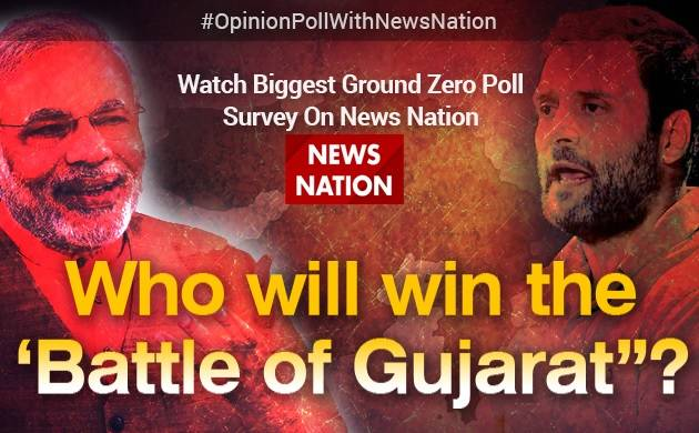 News Nation Opinion Poll Live Updates: Who will win the battle of Gujarat?