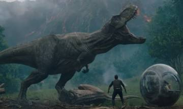 Jurassic World: Fallen Kingdom trailer – Chris Pratt on a mission to save his dinosaurs