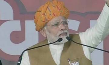 PM Modi urges youth to vote in large numbers in Gujarat polls