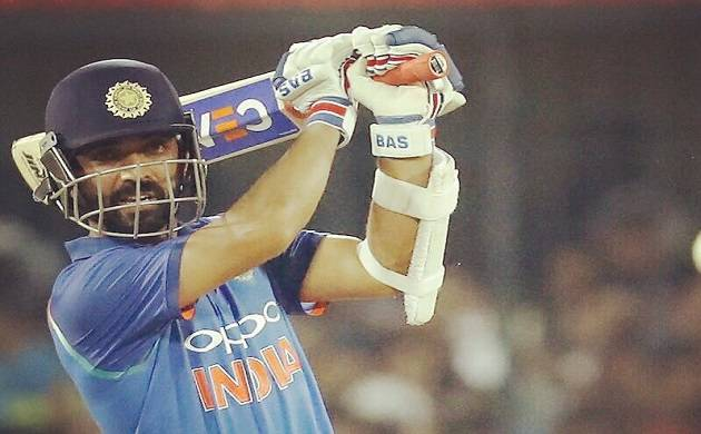 Indian batsman Ajinkya Rahane (Source: Twitter)