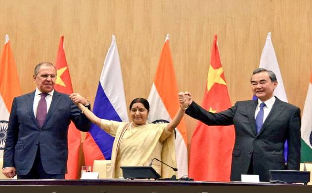 India, Russia, China resolve to step up counter-terror cooperation (Source: Twitter Raveesh Kumar)