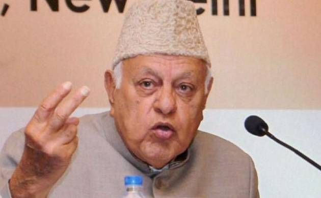 Abdullah accuses BJP-RSS of playing communal card for political gains (PTI Photo)