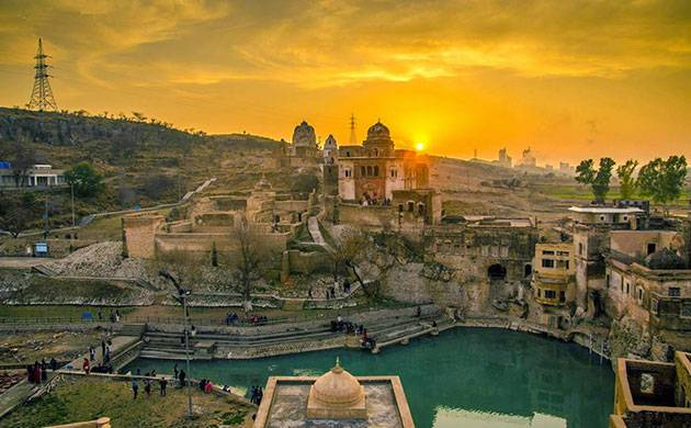 According to legend, the sacred pond was formed after Lord Shiva wept upon the death of his wife Satti (File)