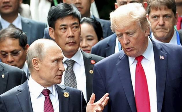 US President Donald Trump today thanked his Russian counterpart Vladimir Putin (Source: Rajya Sabha)