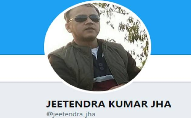Delhi: Missing HRD Ministry official's body found on railways tracks in Palam (Twitter profile photo of Jha)