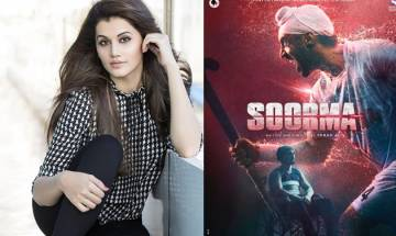 Soorma: Taapsee Pannu wraps up India schedule of Diljit Dosanjh starrer