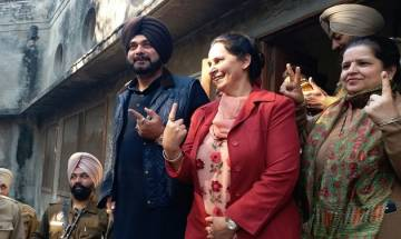 Punjab civic polls 2017 updates: Voting under, Navjot Singh Sidhu casts his vote
