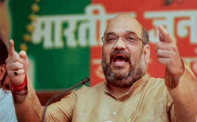 BJP set to form govt in Gujarat, HP, Amit Shah to address media (PTI Photo)
