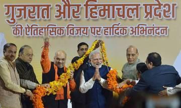 Assembly Election Results 2017: PM Modi wins Gujarat, Himachal Pradesh for BJP