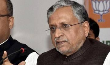 Gujarat, HP poll win vindicates demonetisation, GST decision: Sushil Modi