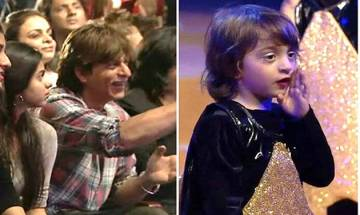 Watch: AbRam Khan dances on dad Shah Rukh Khan's song on school's Annual Day