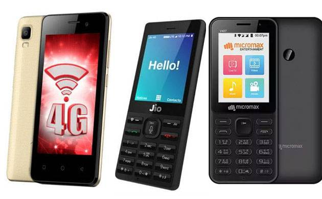 Micromax Bharat 1 vs Vodafone Itel vs JioPhone: Best budget phones of 2017 (File Photo)