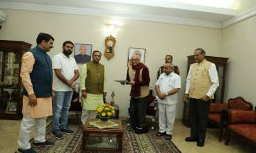 Gujarat CM Vijay Rupani, other ministers submit their resignation to governor